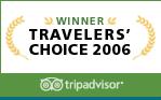tripadvisor award 2006 traveler hotel