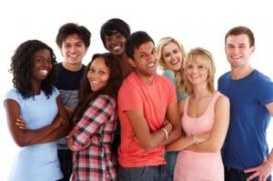 teenage millennial retail employee