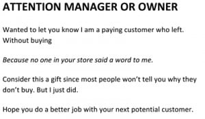 how to leave customer complaint