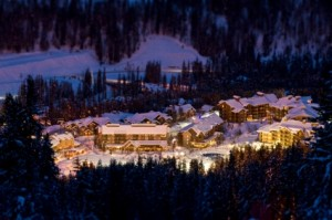 ski resort village retail