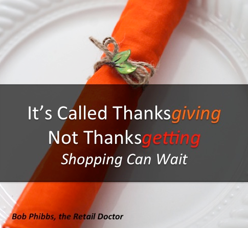 Thanksgiving retail sales employee