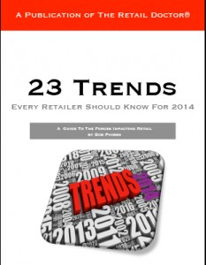 Five Trends For Brick and Mortar Retailers in 2014
