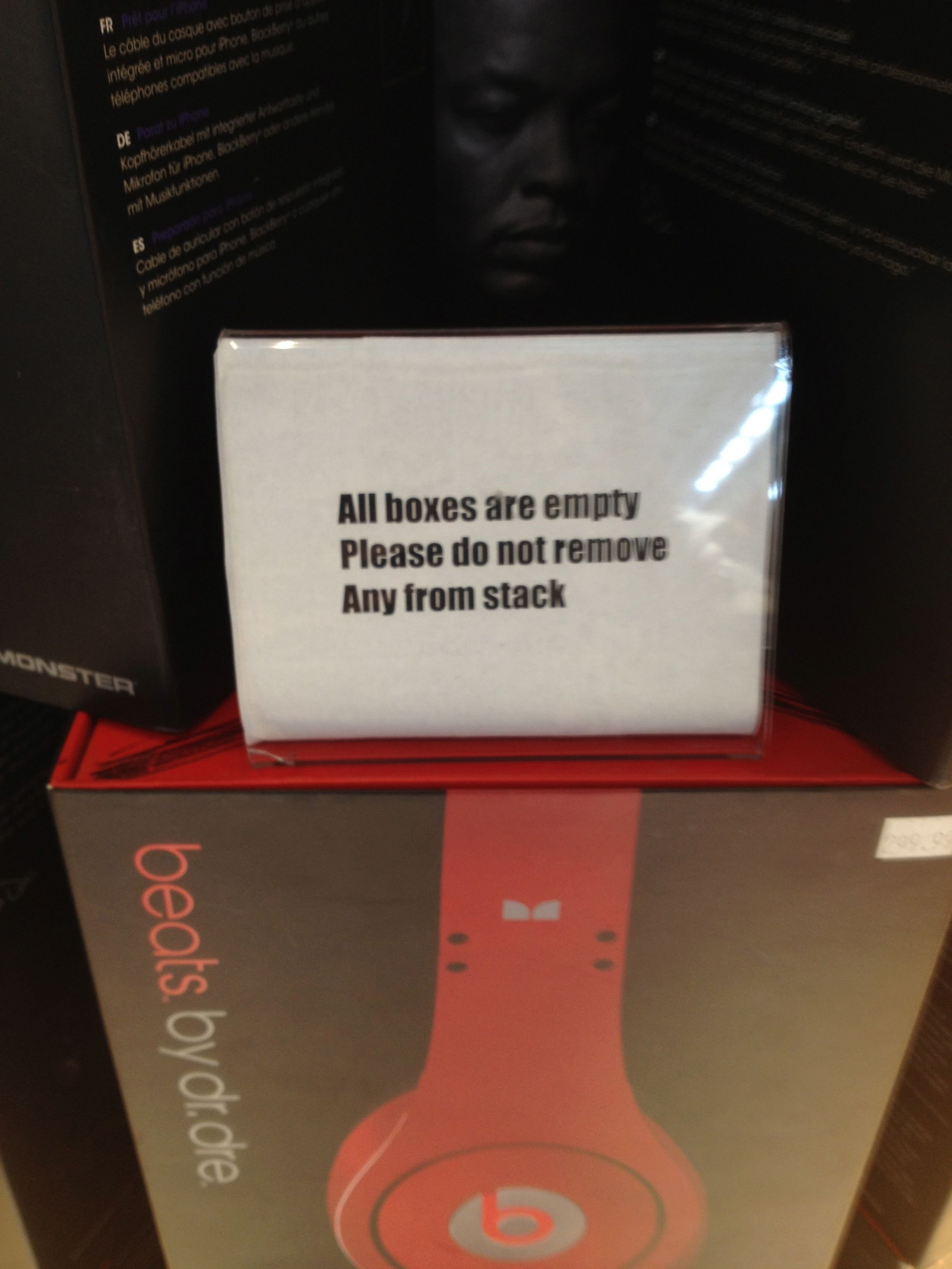 signs in stores