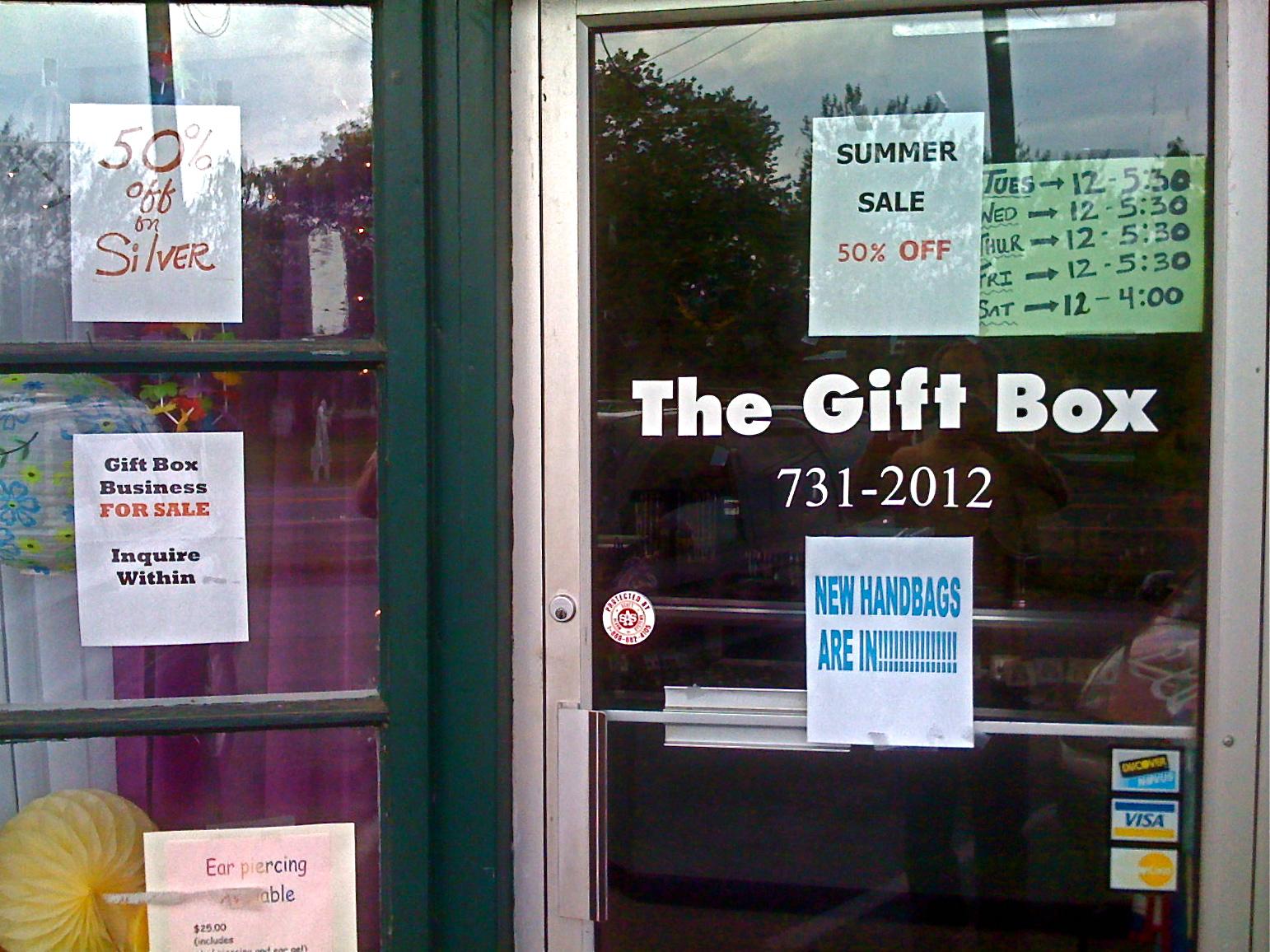 exterior retail signs