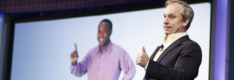 Retail motivational speaker Bob Phibbs