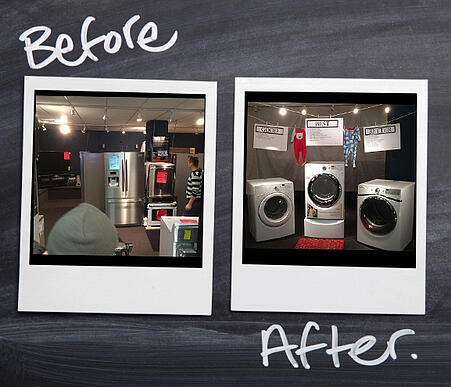 retail store makeover
