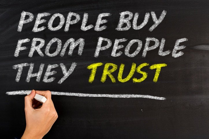 people buy from people they trust