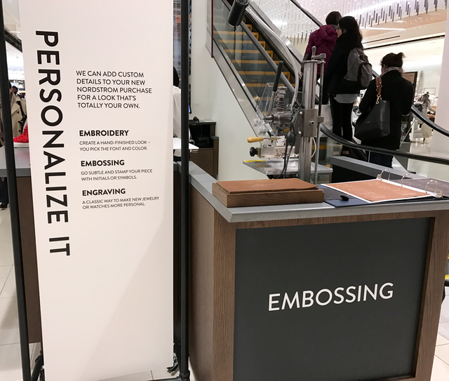 Nordstrom personalization
