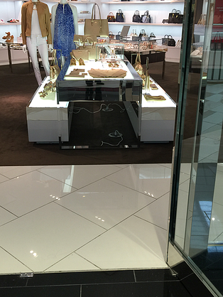 interior MK retail store cords