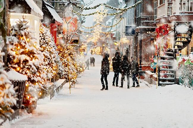 how retail holiday sales weather