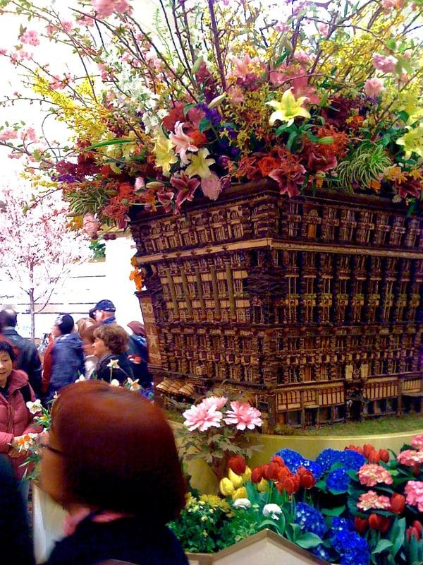 macys flower show decoration