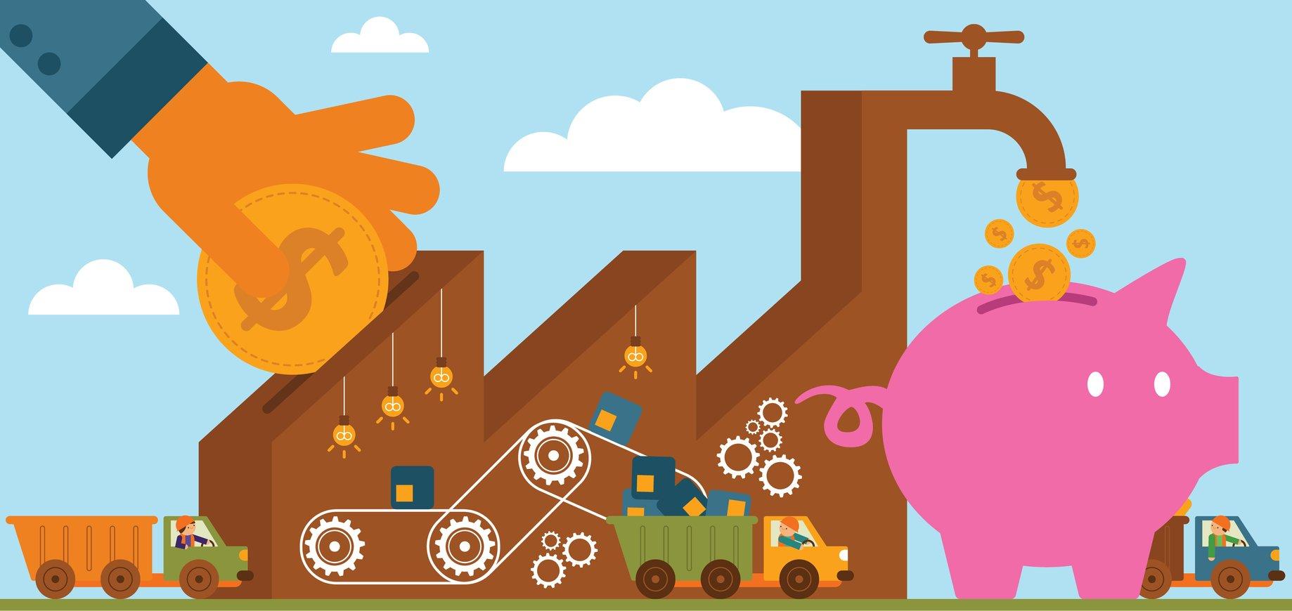 cash flow retailers september