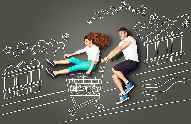 shopping carts and retail websites