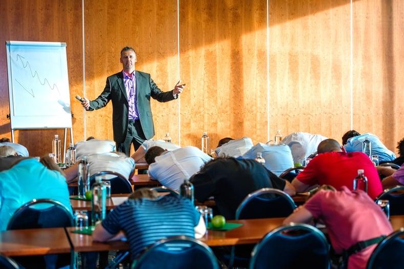 public speaking presentation skills training