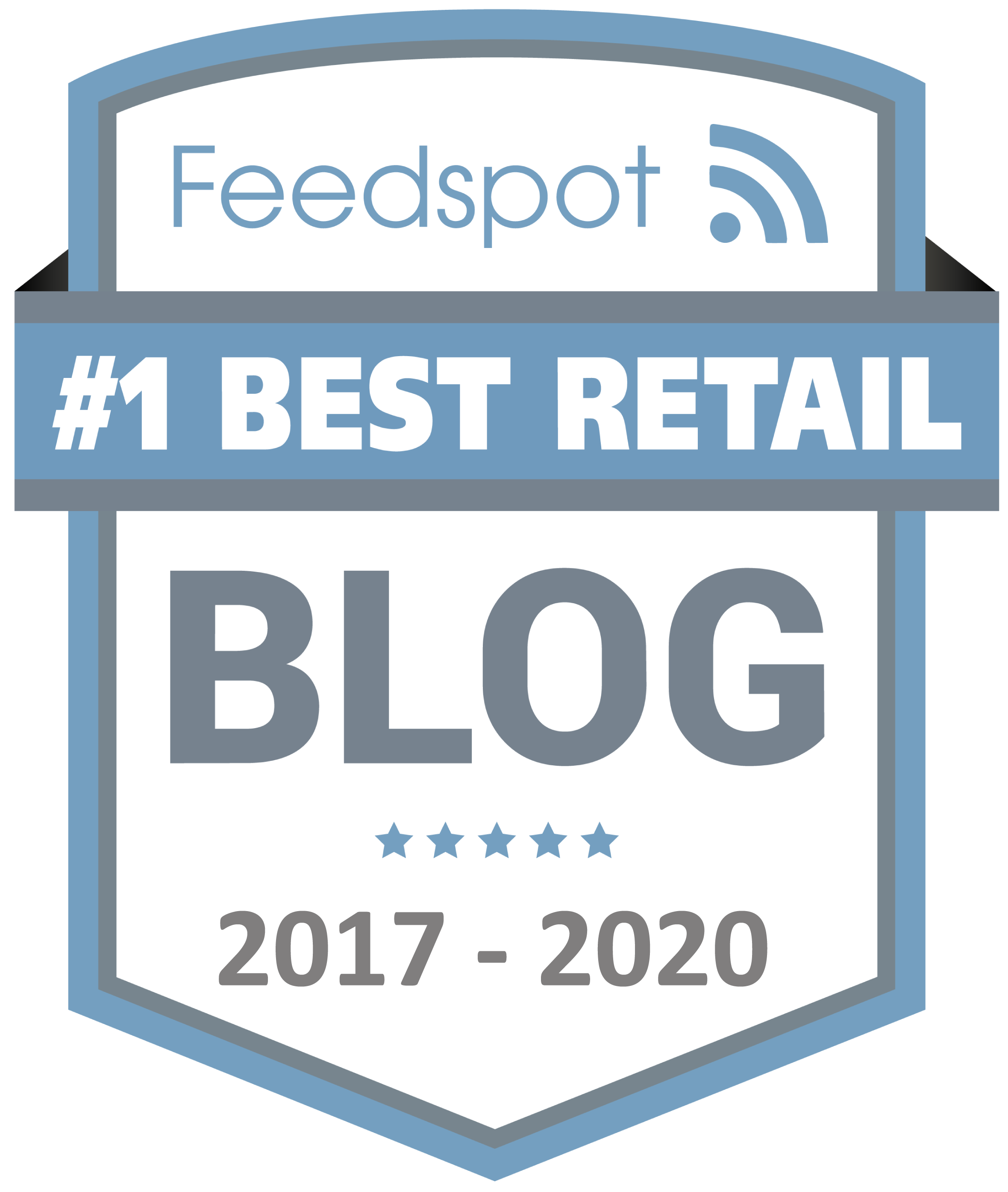 Feedspot's Best Retail Blog & Website Image