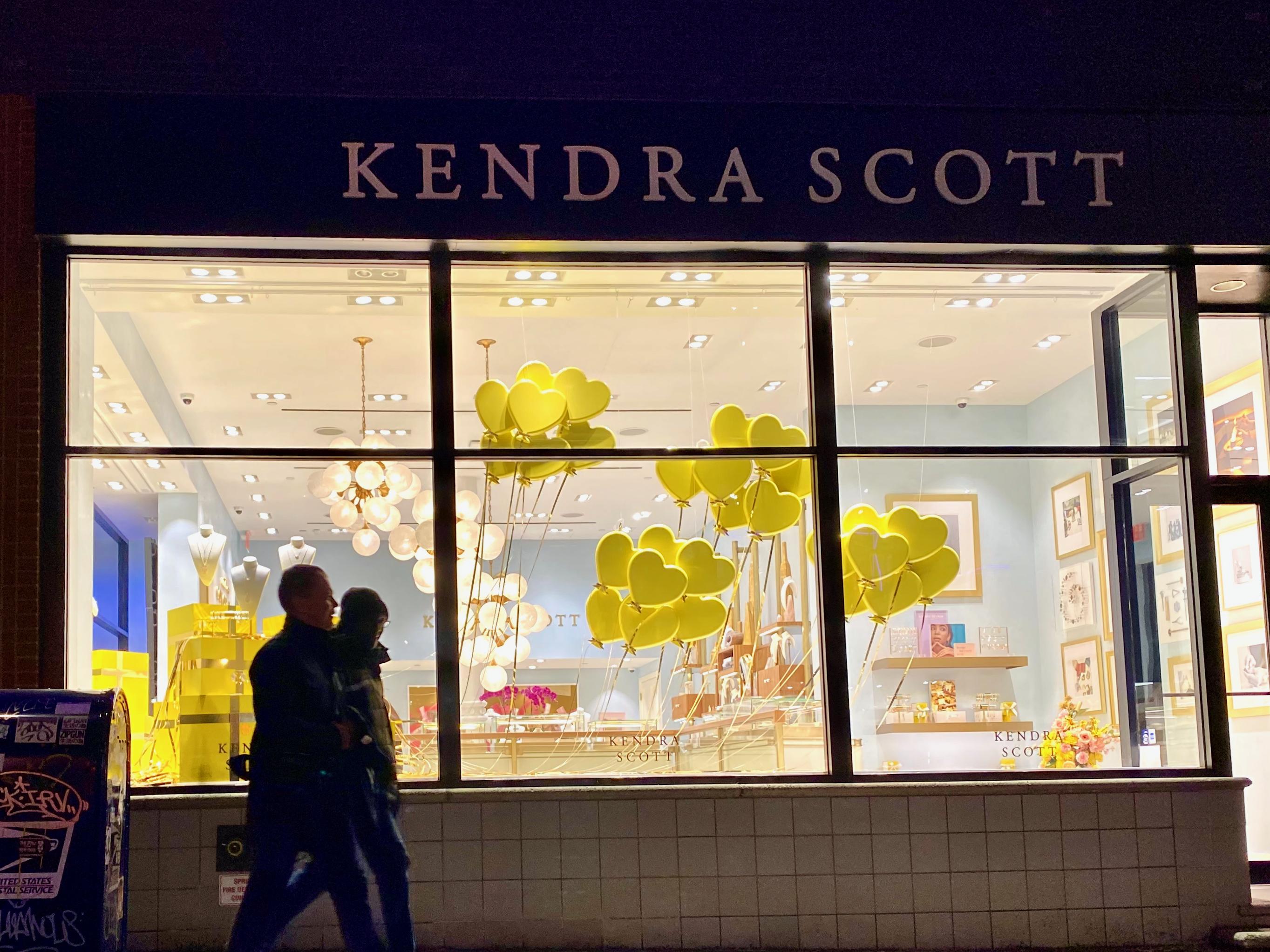 Kendra Scott window display