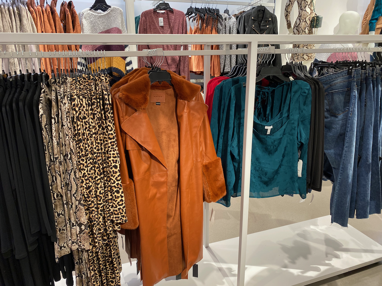Nordstrom Women's Store NYC display unit