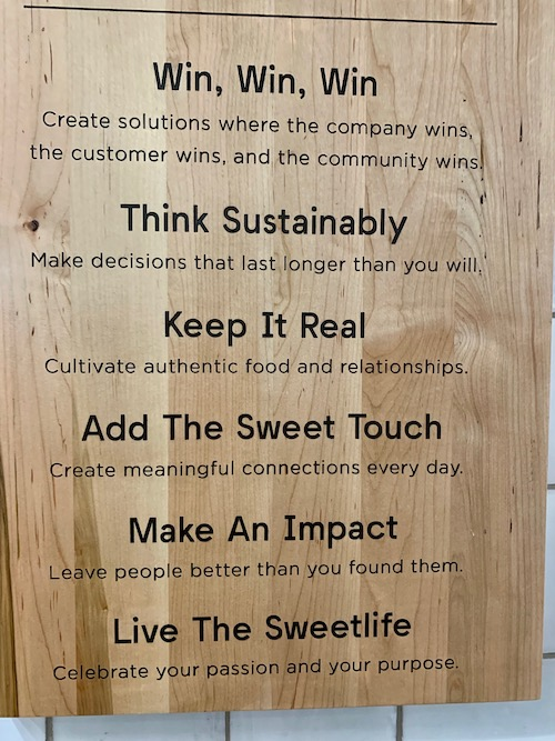 retail purpose sign