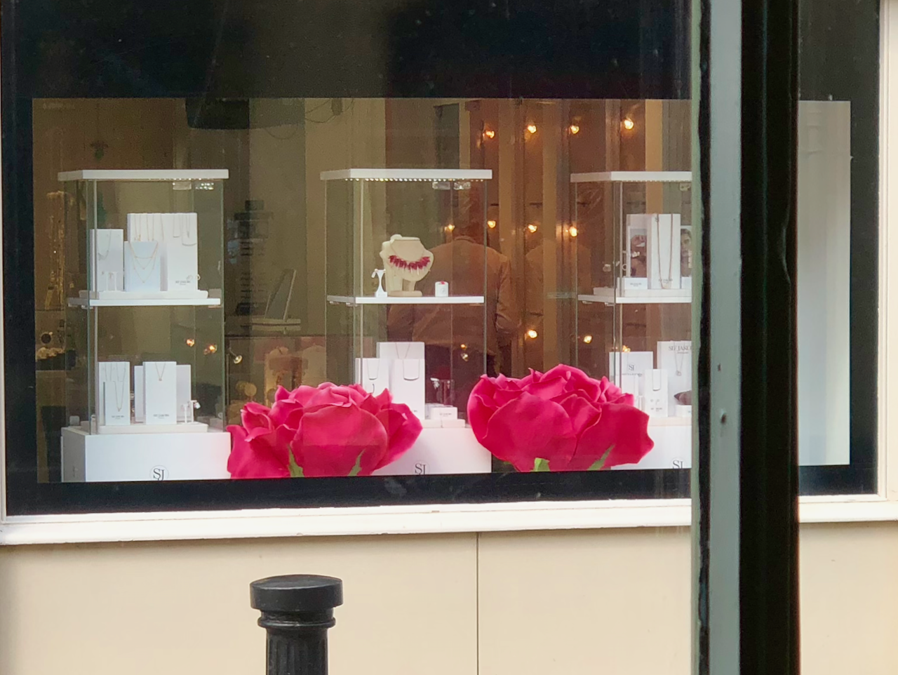 after display window makeover