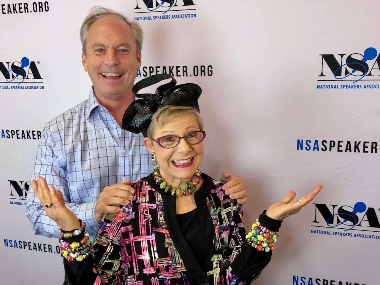 Patricia Fripp and Bob Phibbs
