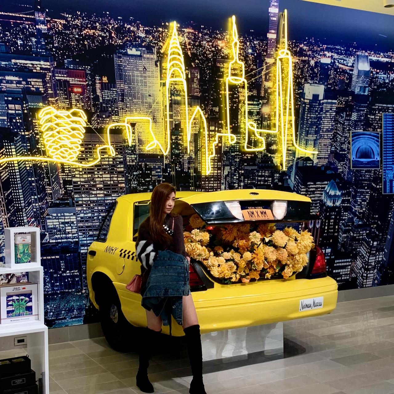 Neiman Marcus Hudson Yards social display