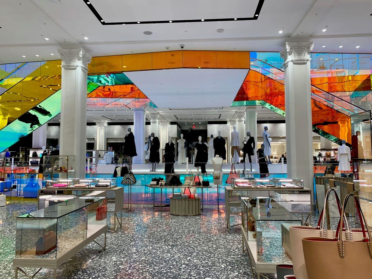 Saks Flagship Store Escalator