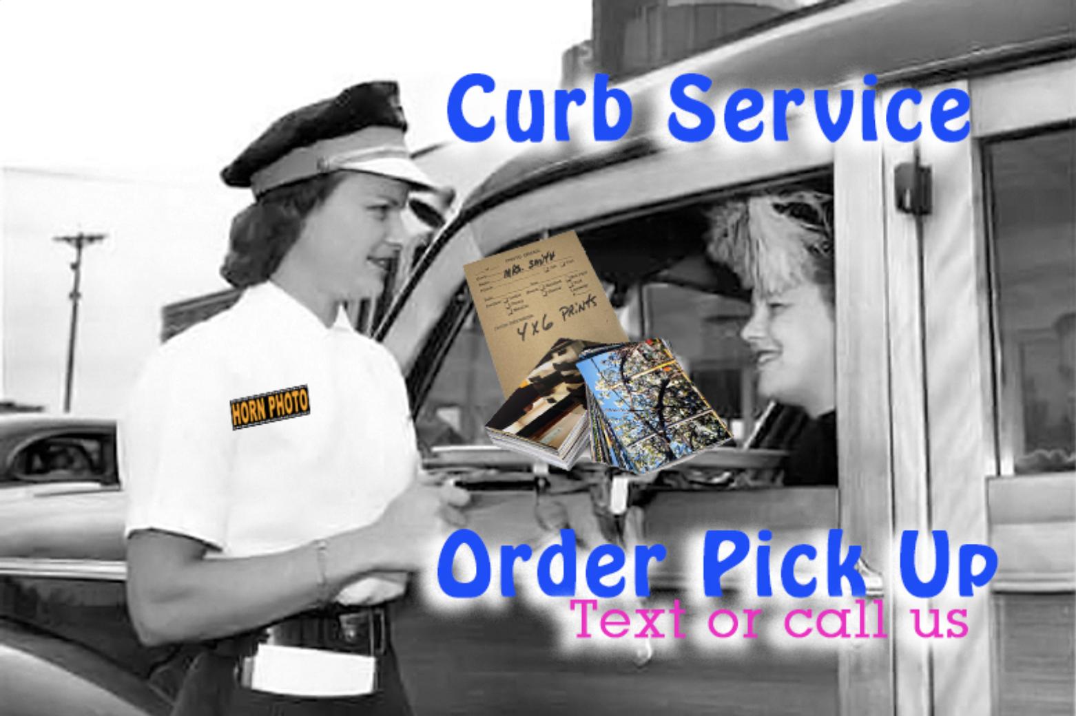 Horn Photo order pickup