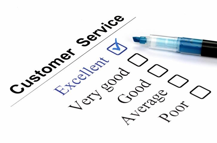 scoring retail customer service