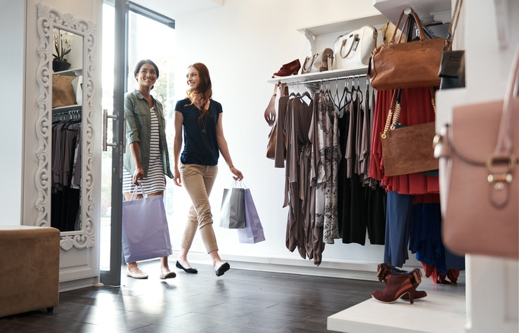 brick and mortar shopper journey