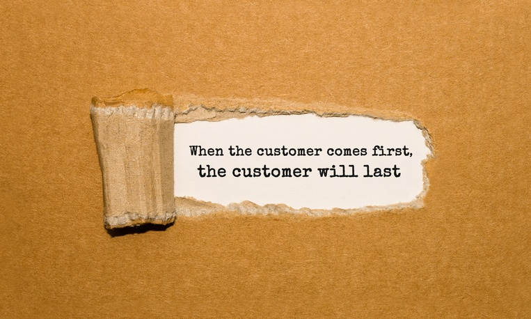 customer first retail store quote