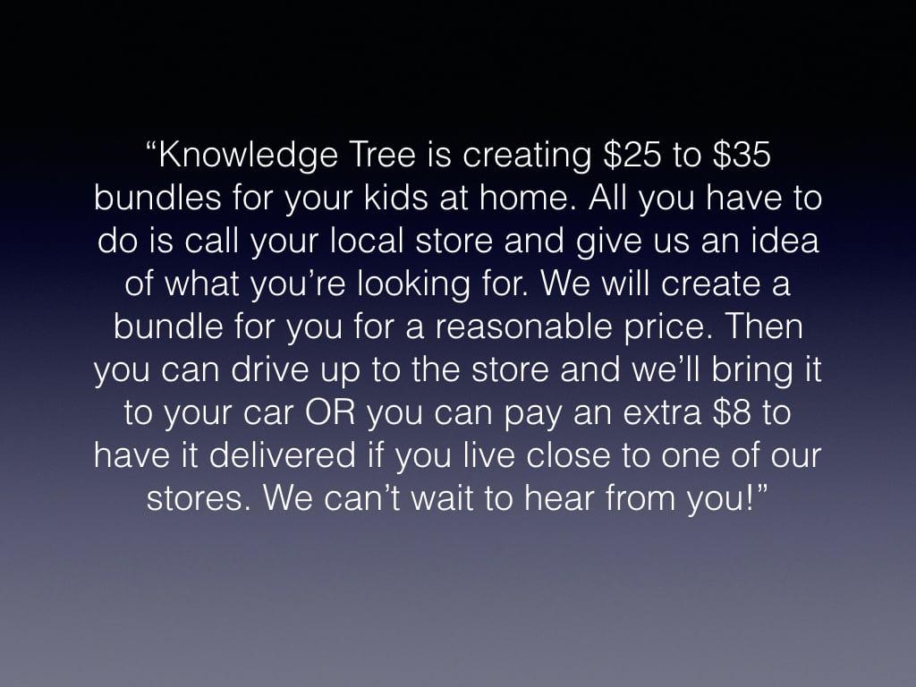 knowledge tree bundles