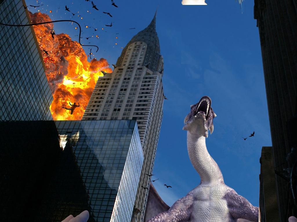 dinosaur wrecking havoc on retail